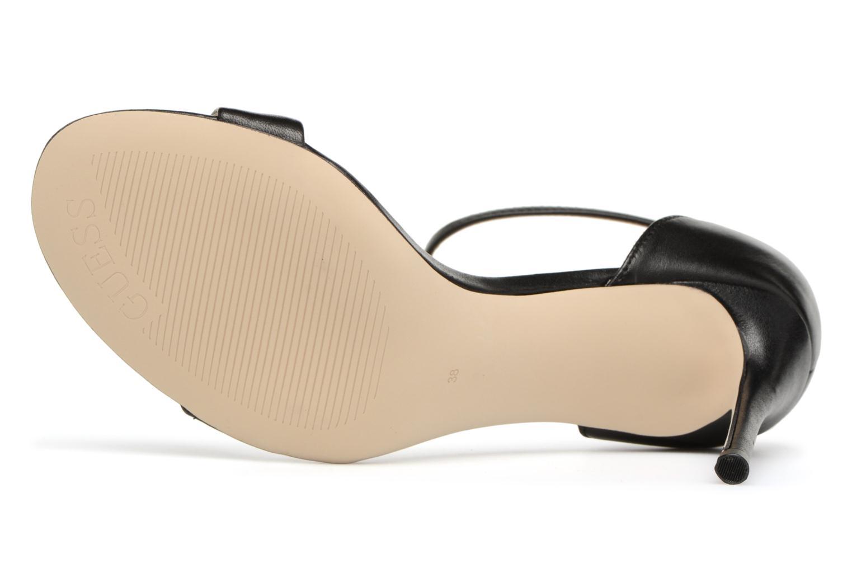 Sandales et nu-pieds Guess Karli Noir vue haut