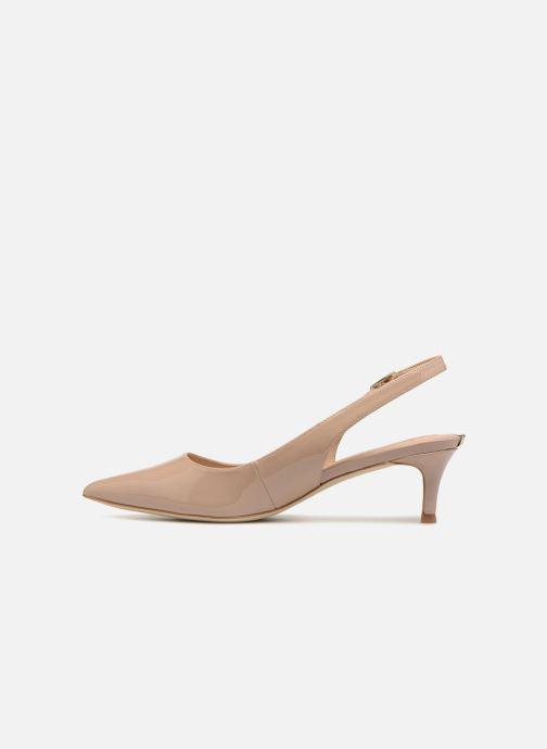 Zapatos de tacón Guess Debby Beige vista de frente