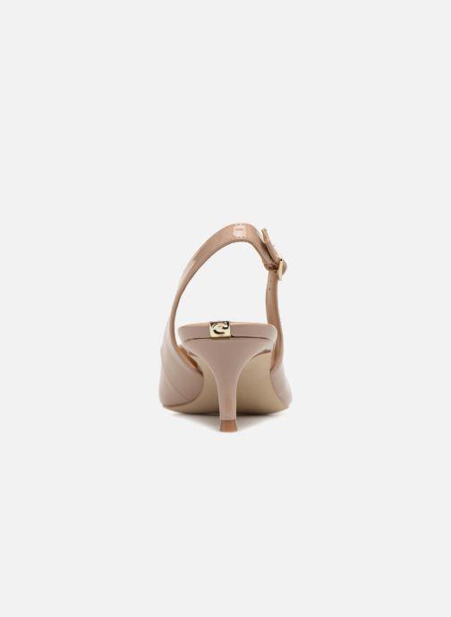 Zapatos de tacón Guess Debby Beige vista lateral derecha