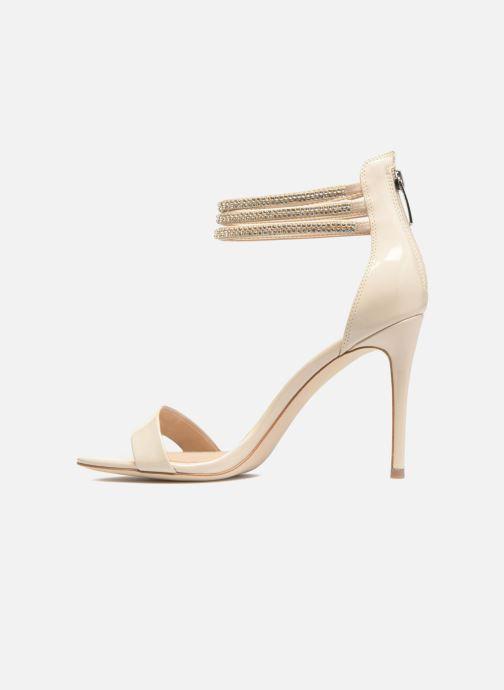 Sandales et nu-pieds Guess Kathy Beige vue face