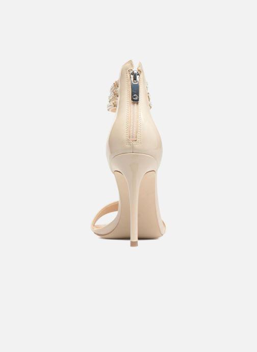 Sandales et nu-pieds Guess Kathy Beige vue droite