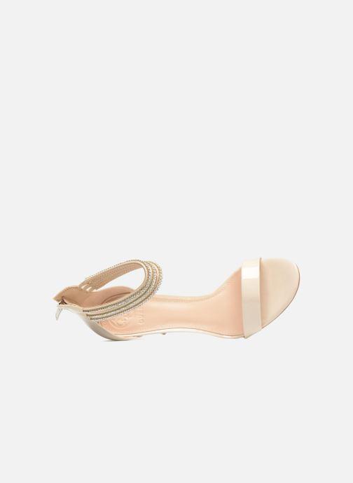 Sandales et nu-pieds Guess Kathy Beige vue gauche