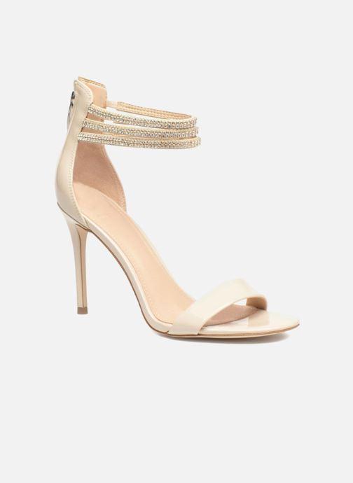 Sandales et nu-pieds Guess Kathy Beige vue détail/paire
