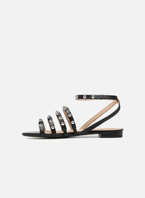 Sandales et nu-pieds Guess Roxie Noir vue face