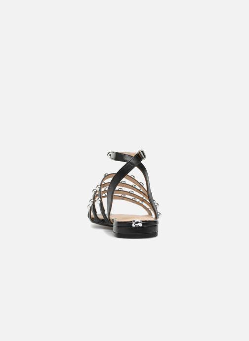 Sandales et nu-pieds Guess Roxie Noir vue droite
