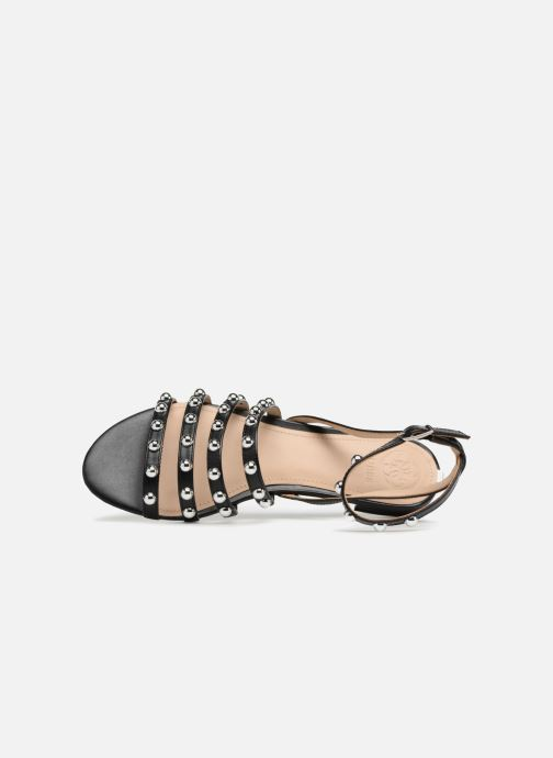 Sandalen Guess Roxie Zwart links