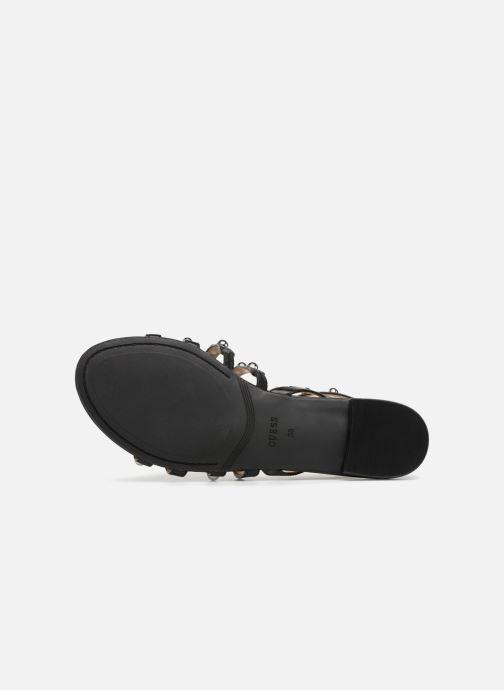 Sandales et nu-pieds Guess Roxie Noir vue haut