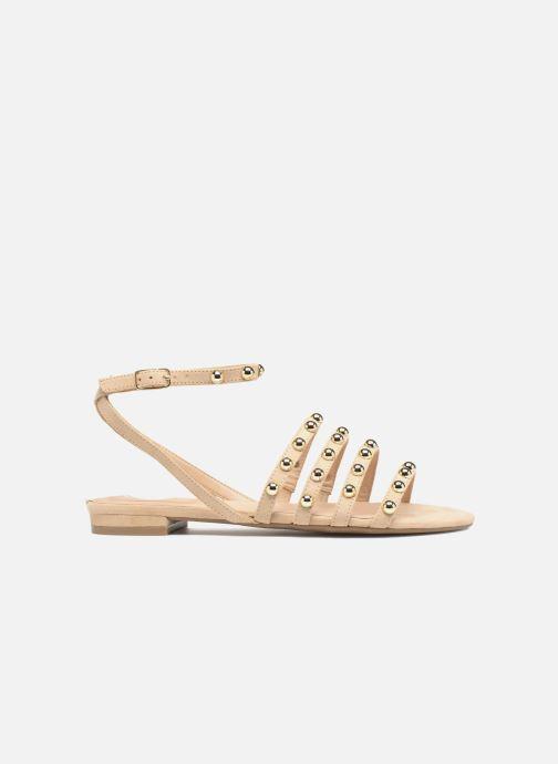 Sandales et nu-pieds Guess Roxie Beige vue derrière