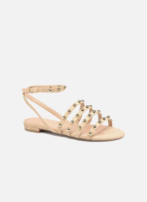 Sandales et nu-pieds Guess Roxie Beige vue détail/paire