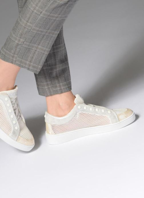 Sneakers Guess Gisela Bianco immagine dal basso