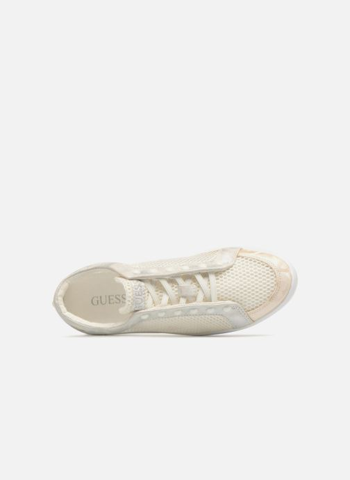 Sneakers Guess Gisela Bianco immagine sinistra