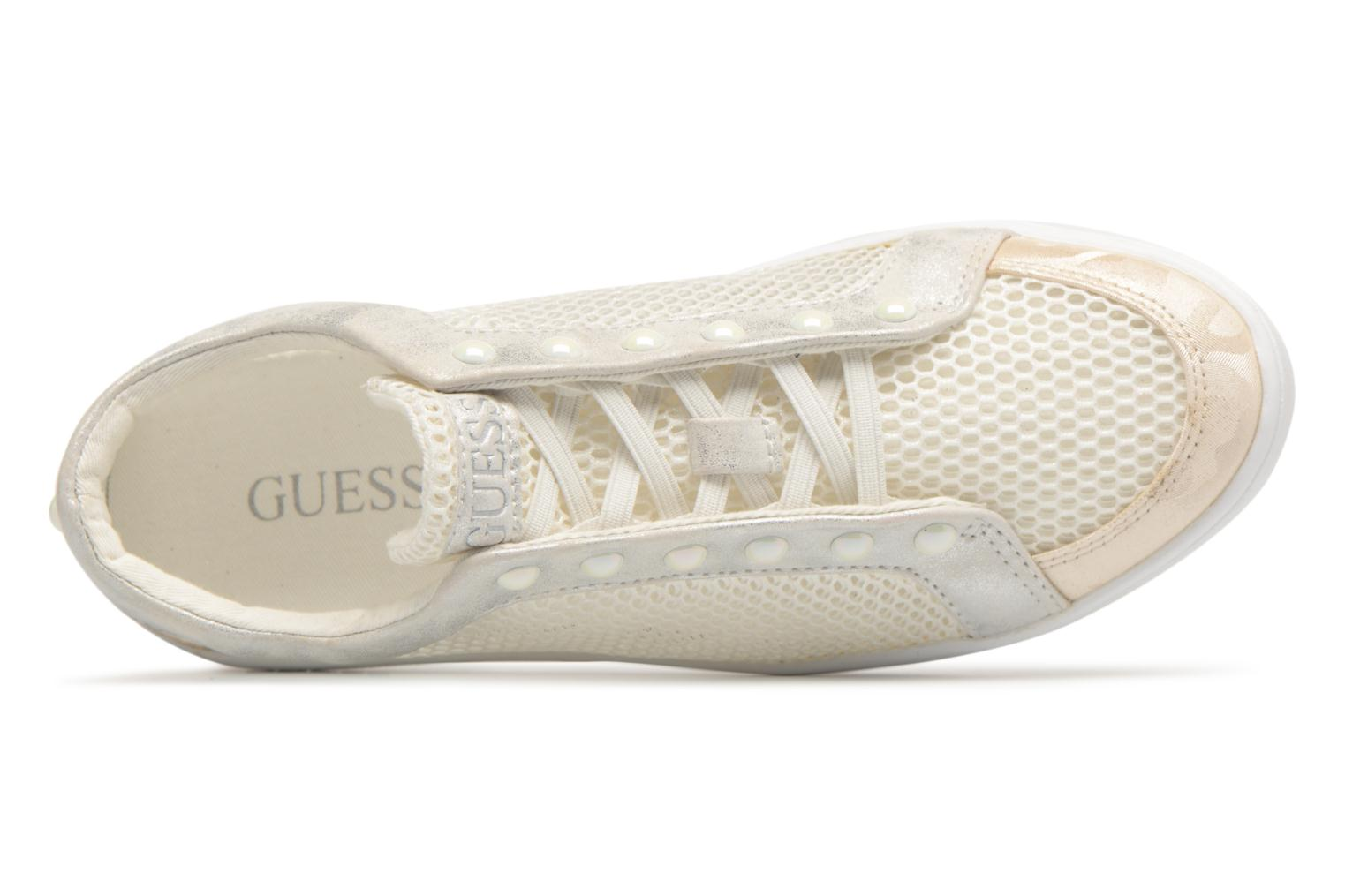 Trainers Guess Gisela White view from the left