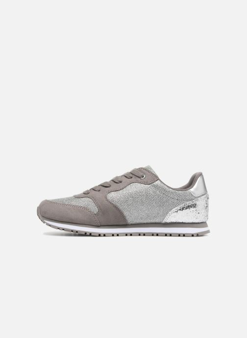 Trainers Guess Johnny2 Silver front view