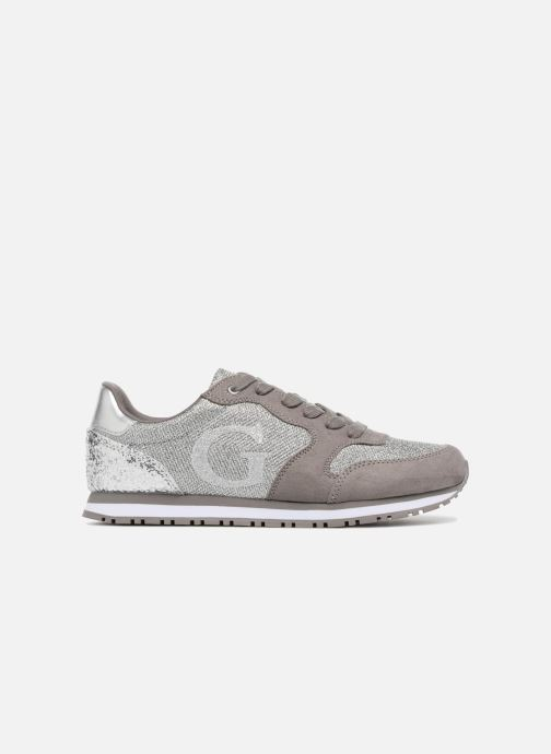 Trainers Guess Johnny2 Silver back view