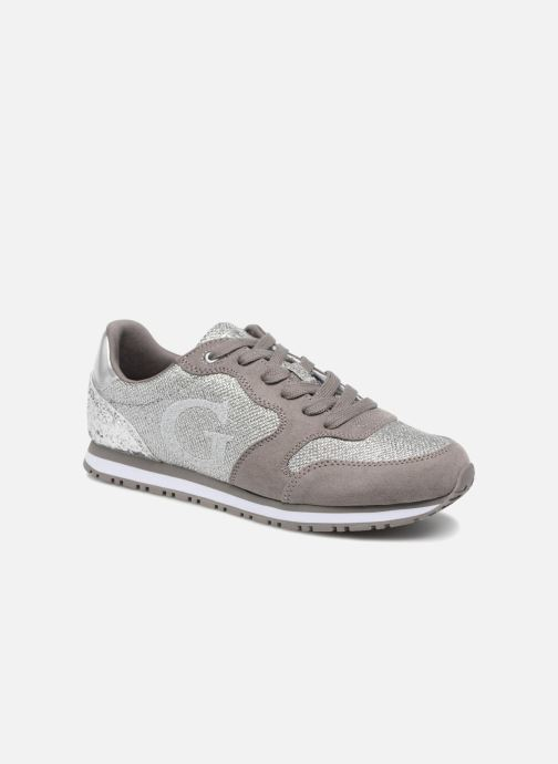 Trainers Guess Johnny2 Silver detailed view/ Pair view