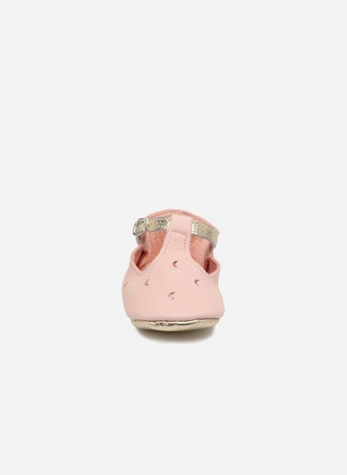 Chaussons Hippie Ya Sandales HY Rose vue portées chaussures