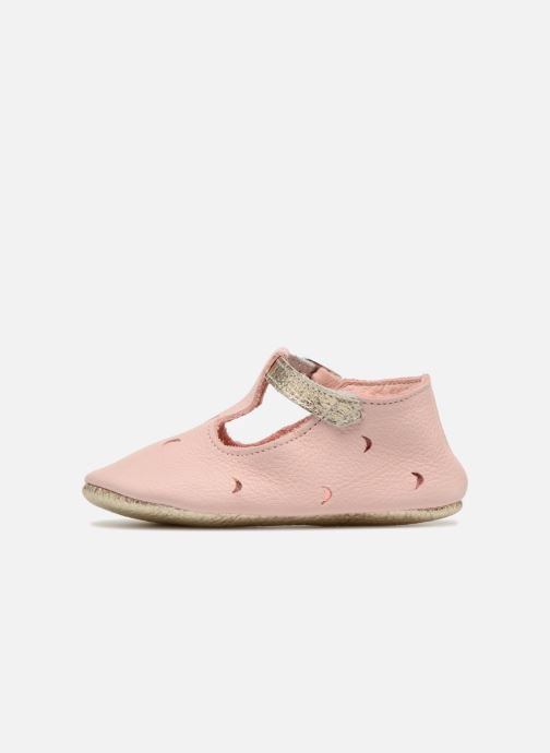Chaussons Hippie Ya Sandales HY Rose vue face