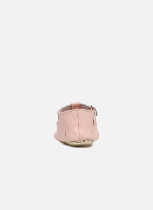 Chaussons Hippie Ya Sandales HY Rose vue droite