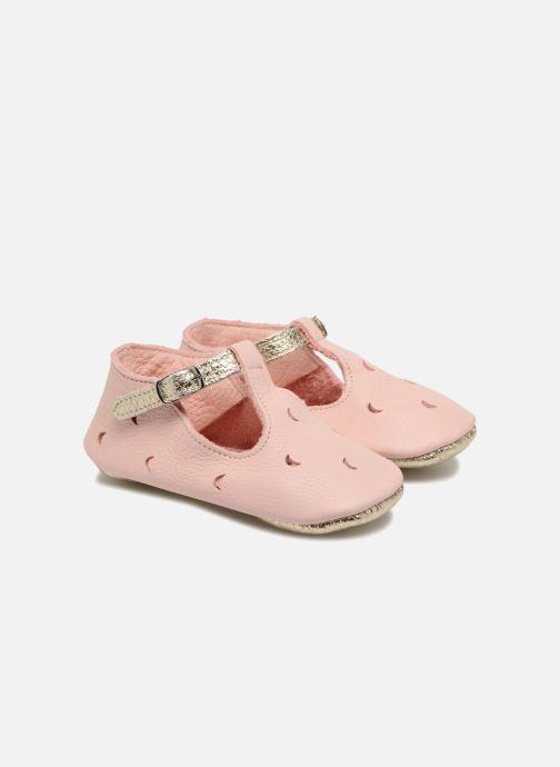 Pantoffels Hippie Ya Sandales HY Roze detail