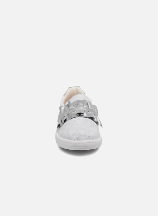 Baskets Pablosky Eva Blanc vue portées chaussures