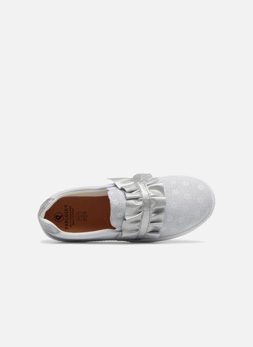 Sneakers Pablosky Eva Bianco immagine sinistra