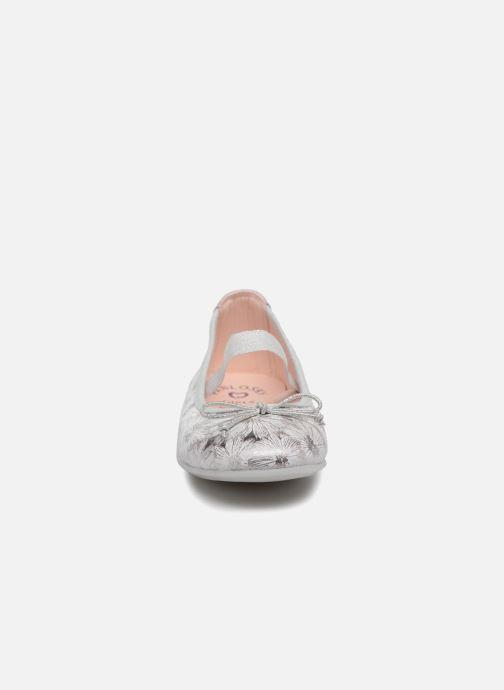 Ballerines Pablosky Isabel Blanc vue portées chaussures