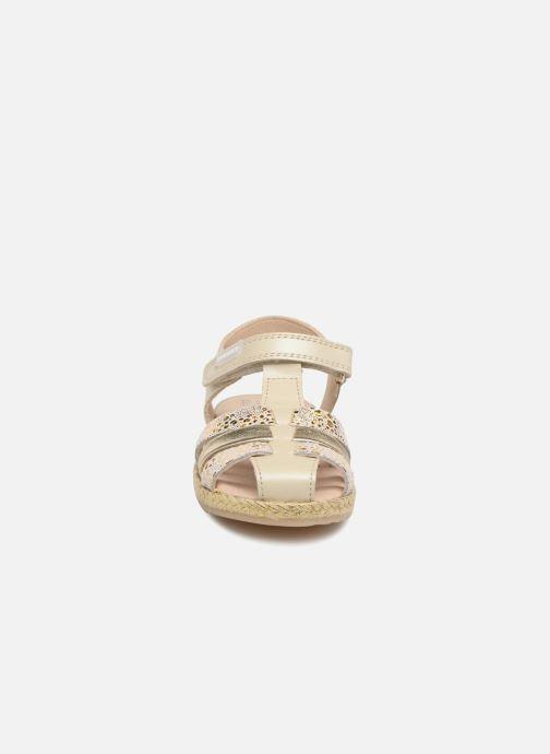 Sandales et nu-pieds Pablosky Julia Or et bronze vue portées chaussures