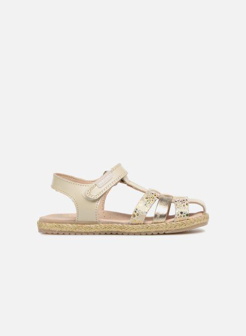 Sandales et nu-pieds Pablosky Julia Or et bronze vue derrière