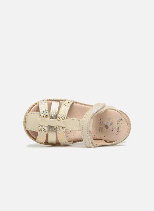 Sandales et nu-pieds Pablosky Julia Or et bronze vue gauche