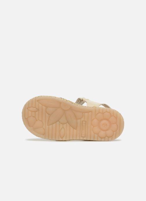 Sandales et nu-pieds Pablosky Julia Or et bronze vue haut