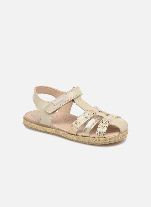 Sandales et nu-pieds Pablosky Julia Or et bronze vue détail/paire