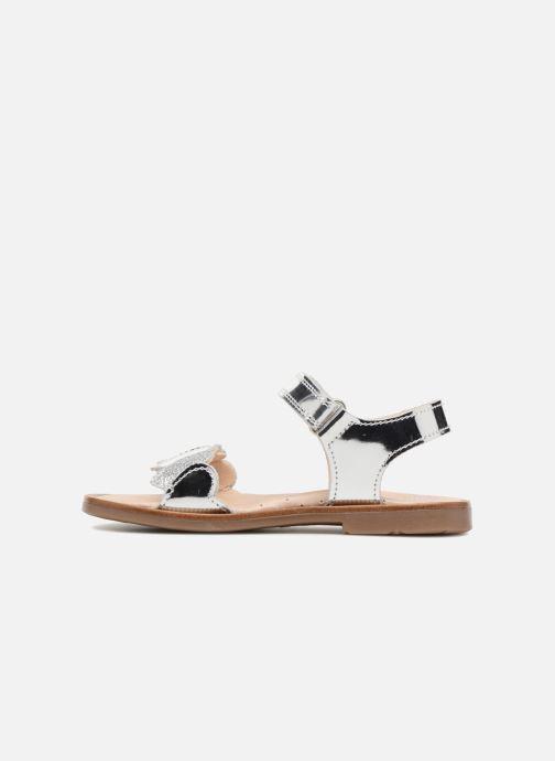 Sandales et nu-pieds Pablosky Angela Argent vue face