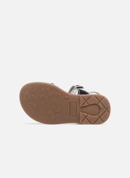 Sandales et nu-pieds Pablosky Angela Argent vue haut