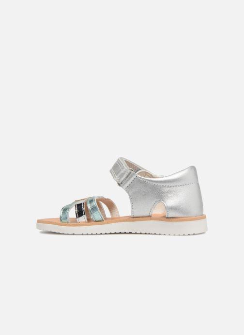 Sandales et nu-pieds Pablosky Alicia Argent vue face