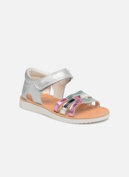 Sandales et nu-pieds Pablosky Alicia Argent vue détail/paire