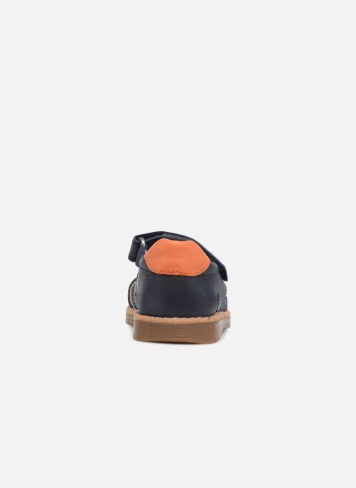 Sandales et nu-pieds Pablosky Flavio Bleu vue droite