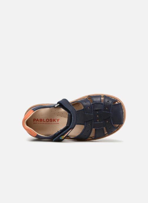 Sandales et nu-pieds Pablosky Flavio Bleu vue gauche