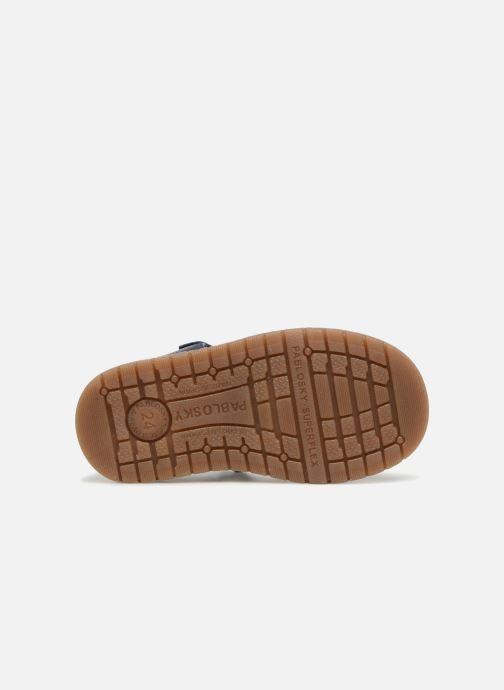 Sandales et nu-pieds Pablosky Flavio Bleu vue haut
