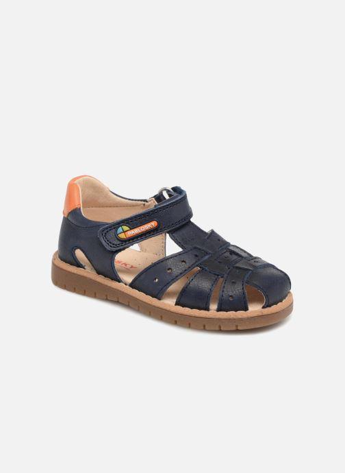 Sandales et nu-pieds Pablosky Flavio Bleu vue détail/paire