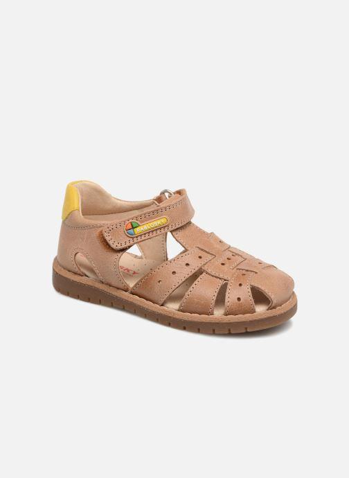 Sandales et nu-pieds Pablosky Flavio Marron vue détail/paire