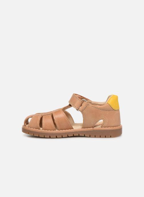 Sandales et nu-pieds Pablosky Flavio Marron vue face