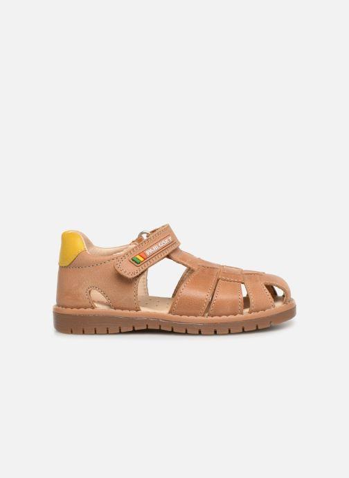 Sandales et nu-pieds Pablosky Flavio Marron vue derrière
