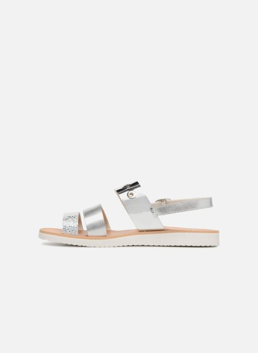 Sandals Pablosky Carolina Silver front view