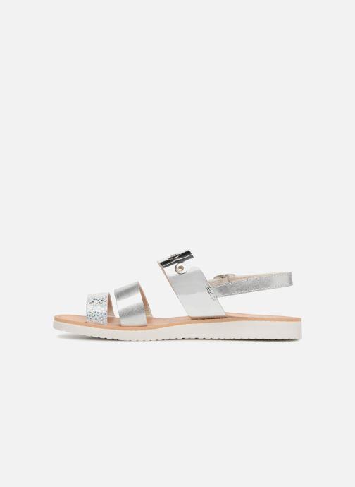 Sandales et nu-pieds Pablosky Carolina Argent vue face