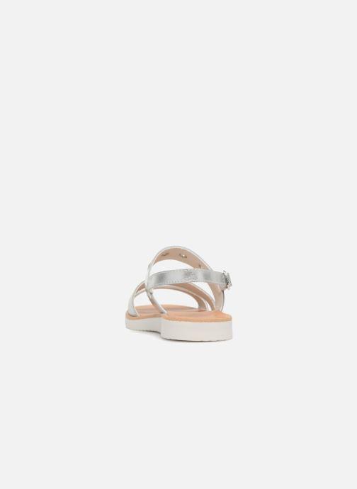 Sandales et nu-pieds Pablosky Carolina Argent vue droite
