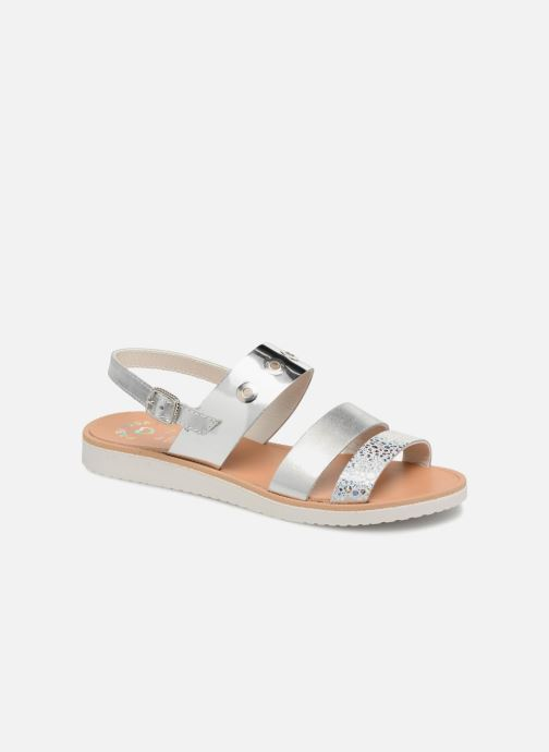 Sandals Pablosky Carolina Silver detailed view/ Pair view
