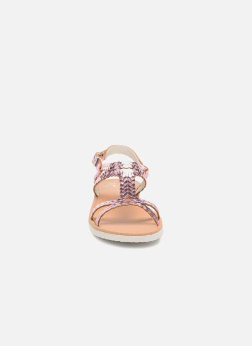 Sandales et nu-pieds Pablosky Natalia Rose vue portées chaussures