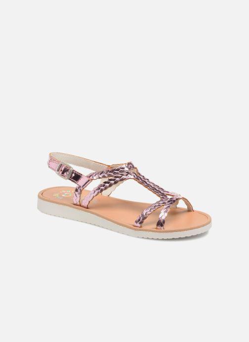 Sandales et nu-pieds Pablosky Natalia Rose vue détail/paire