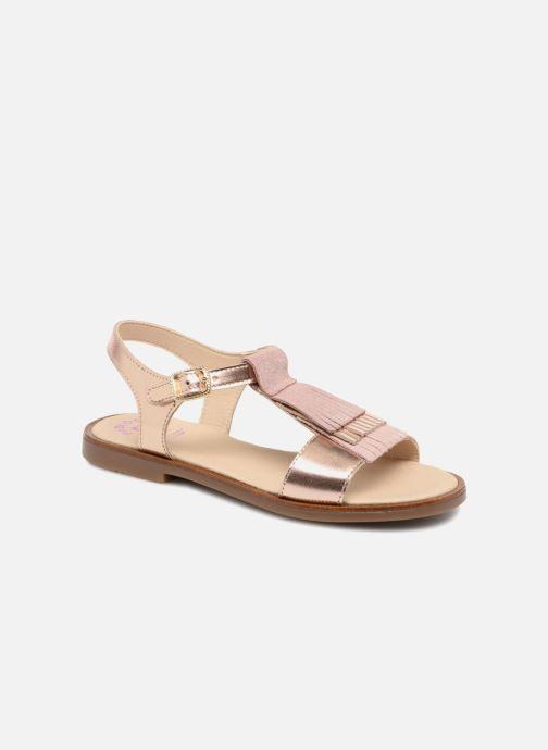 Sandales et nu-pieds Pablosky Sofia Rose vue détail/paire