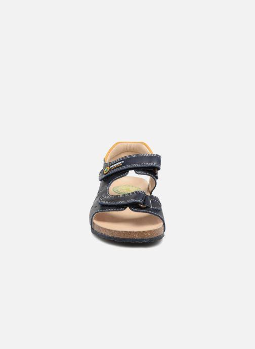 Sandales et nu-pieds Pablosky Eduardo Bleu vue portées chaussures